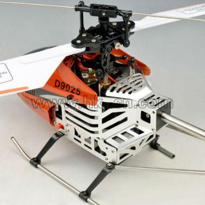 ミドルサイズ4chのシングルブレードrcヘリコプター