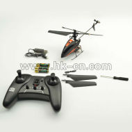 Ghz 2.4 sola hoja del helicóptero del rc helicóptero de control remoto
