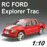 Escala 1:10 licencia de ford explorer trac rc coche de juguete