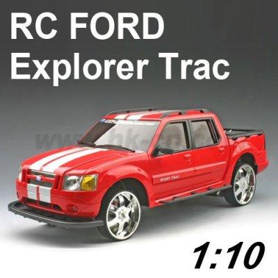 フォードエクスプローラーtracのライセンス1:10スケールのrcのおもちゃの車