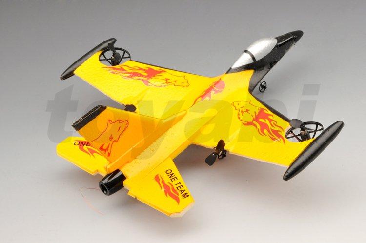 4ch ppe rc f-16 fighting falcon avión con 3d que vuelan rc avión/aviones modelo/avión rc