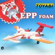 Material de espuma epp juguetes del rc modelo super historia p-180 avanti rc avión
