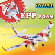 Rc modelo de avión, juguetes del rc modelo de haya 60 duque de batalla para rc modelo de avión de espuma epp