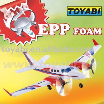 Avion modèle de rc, rc jouets modèle hêtre 60 duc bataille pour avion modèle de rc mousse epp
