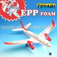 Modèle réduit d'avion, jouets modèle super histoire boing 737 pour rc avion modèle de mousse epp