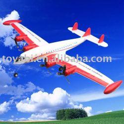 Juguete de control remoto aviones, l-1049 batalla rc avión