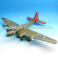 Hobby jouets, loisirs, rc jouet b-17 d'incendie. avion de chasse