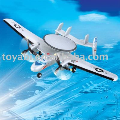 Modelo de avión, rc de juguete super historia e-2 hawkeye plano