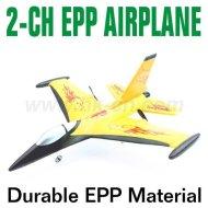 小型2CH EPP RC F-16の戦いの隼の航空機は平になる