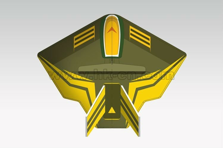 ppe rc planeador avión cyber yber aero ranger de tecnología de la serie