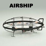 ジャイロコンパス、赤外線フライが付いている赤外線rcの飛行船