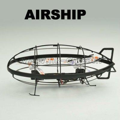 Infrarrojos dirigible rc con el girocompás, infrarrojo lejano bola volando