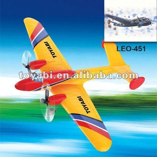 Epp 2ch juguetes modelo de avión super historia leo-451 avión rc avión/aviones modelo/avión rc