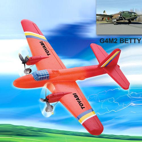 Ppe avión de control remoto g4m2 con betty la noche- vuelo de avión rc/aviones modelo/avión rc