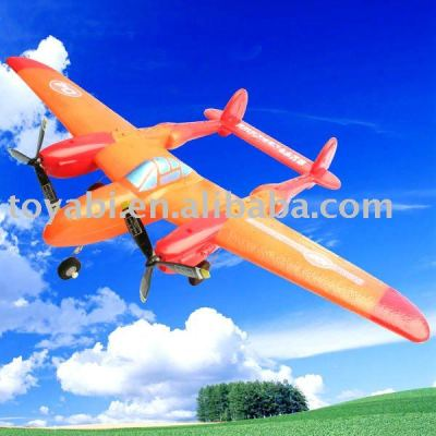 Epp flugzeug p-38 fernbedienung schlacht spielzeug