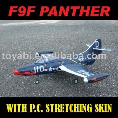Modelo de avión, juguetes modelo super historia pantera f9f rc modelo de avión.