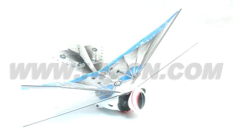 juguetes manía del rc avión de aire con superman duradera ppe material