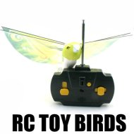 2ch rc juguete de aves con duradera ppe material