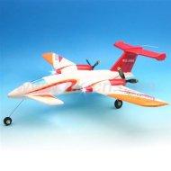 Rc avion à réaction radio control plane avion rc p-180 avanti avec 3 lumières. vol