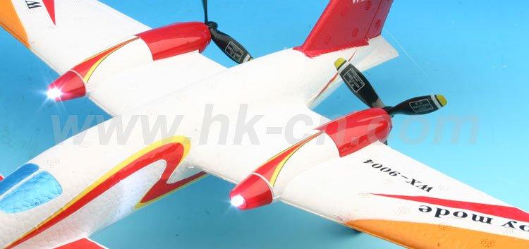 Jet rc flugzeug funksteuerung flugzeug rc flugzeug p-180 avanti mit 3 flug lichter