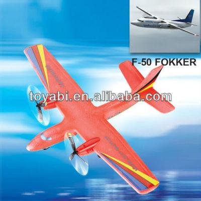 2ch epp avion rc super histoire f-50 forkker avion rc modèle d'avion