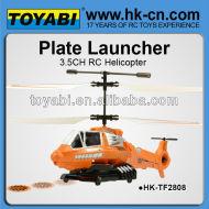 3.5ch helicóptero del rc airsoft pistola de diseño similar con spinmaster