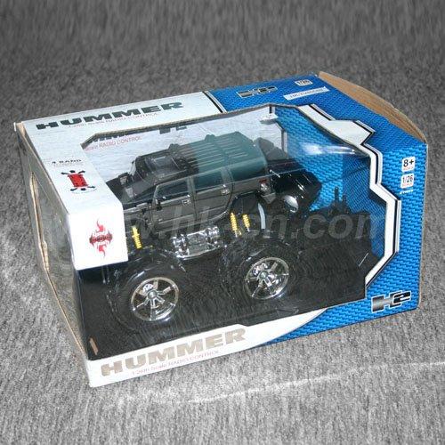 1:16 con licencia escala rc coche de juguete h2 hummer con luces led y 4 colores