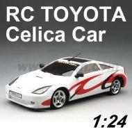 1:24 escala rc licencia totota celica coche de juguete