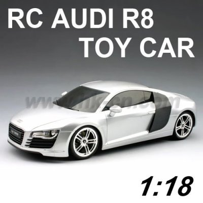 1:18 Échelle licence rc. audi. r8 voiture de jouet