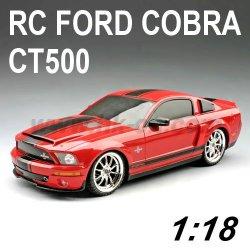 Voiture de rc, 1:18 Échelle licence rc. ford. cobra ct500 voiture de jouet
