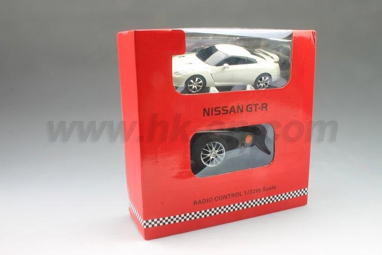Coche del rc, 1:32 escala rc licencia nissan gt-r coche de juguete