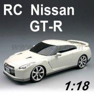 Voiture de rc, nissan gt-r 1:18 Échelle licence rc voiture de jouet