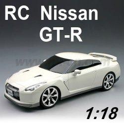 Coche del rc, 1:18 escala rc licencia nissan gt-r coche de juguete