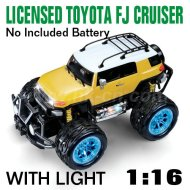 1:16 Échelle agréé toyota fj cruiser avec des lumières led toyota voiture de jouet de rc