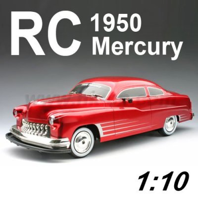 1:10 Échelle licence rc. 1950 mercure, voiture de jouet