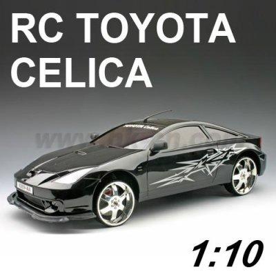 1:10 escala rc licencia toyota celica coche de juguete