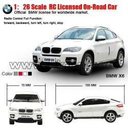 1:26 bmw escala coche de juguete del rc modelo con licencia en- carretera de coches de juguete( de neumáticos pequeños, con la batería)