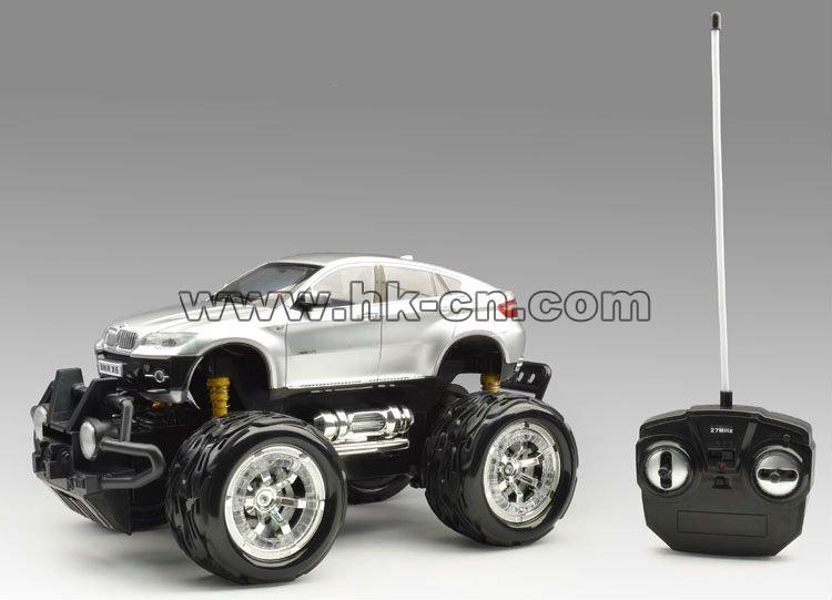 1:16 escala rc con licencia en- coche de carretera( grandes neumáticos, sin batería)
