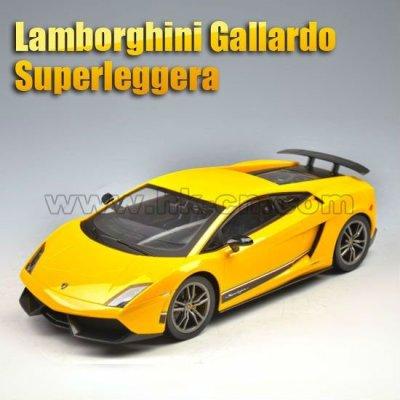 1:14 escala rc con licencia en- coche de carretera( lamborghini gallardo superleggera)
