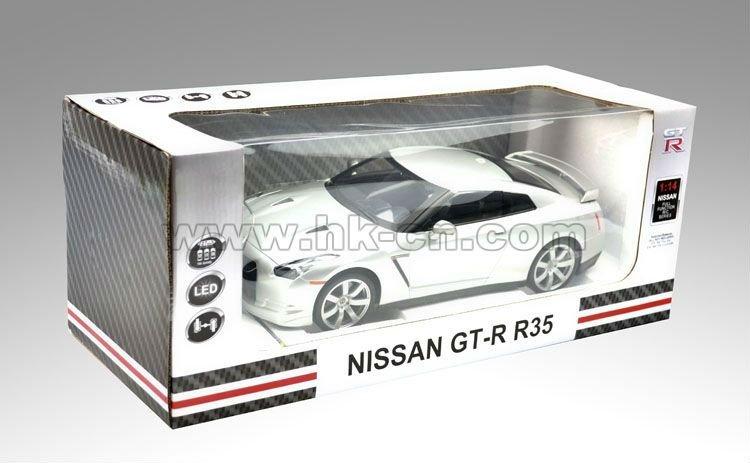 1:14 escala rc con licencia en- coche de carretera( nissan gt-r r35)