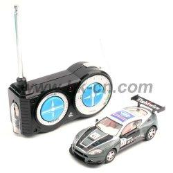1:43 escala rc coche de carreras con luces intermitentes( caja de regalo)