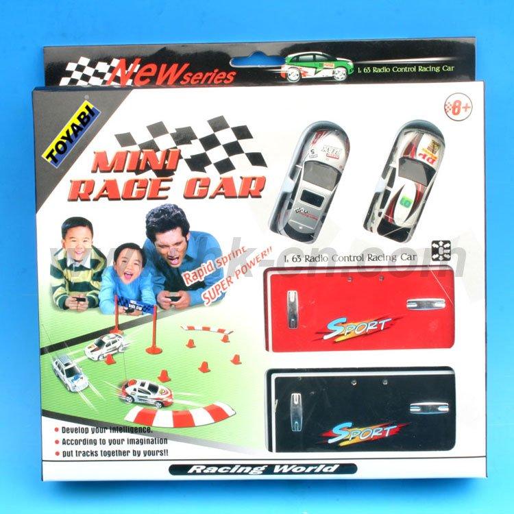 1:63 Échelle mini rc voiture de course de course jouets, cadeau jouet rc