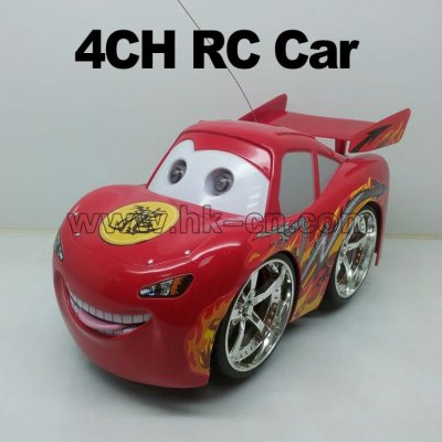 canal 4 mini rc coche de carreras