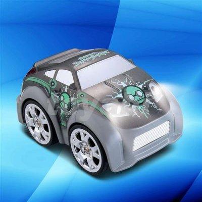 Mini mando a distanciainfantil de coches de juguete, un lado 4 x 4 ruedas de conducción