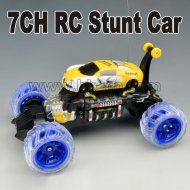 Rc voiture stunt hk-tv2344-1 7ch flexiable
