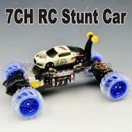 flexiable 7ch rc stunt auto
