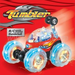 Vaso de plástico rc coche de juguete con luz de flash, los juguetes del rc