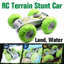 De plástico de juguete del coche, control de radio de todo terreno truco de coches, rc coche de juguete