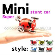 2012 chaud- vendre mini voiture stunt 360 rotation mini voiture rc