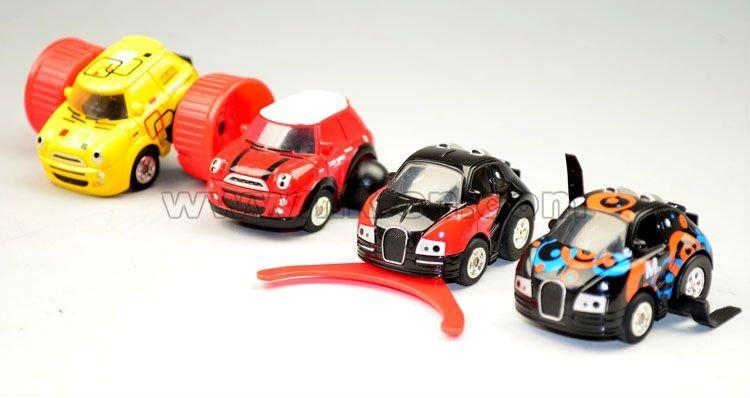 ir stunt coche de carreras de la serie
